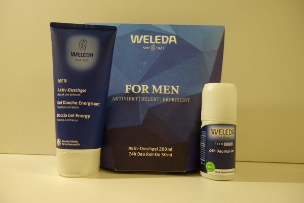 WELEDA GESCHENK-SET FOR MEN 250ml
