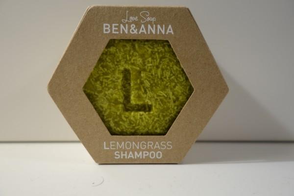 Ben & Anna Love Soap Shampoo Lemongrass 60g