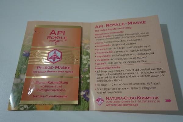 API-ROYALE PFLEGE-MASKE Natura Clou 7,5ml