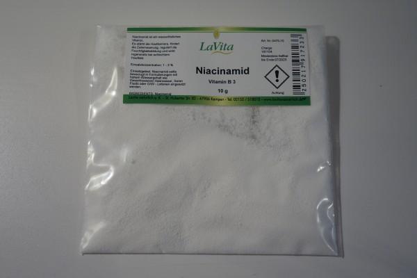 LaVita Niacinamid Vitamin B3 10g