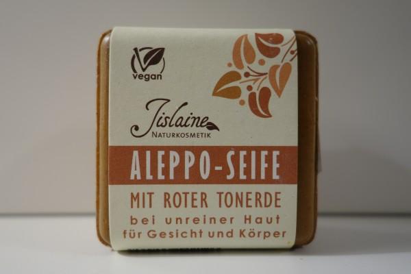 Aleppo Seife mit roter Tonerde