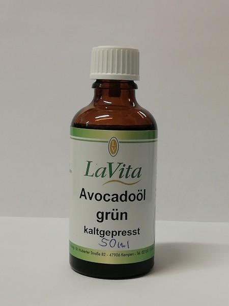Avocadoöl grün, kaltgepresst