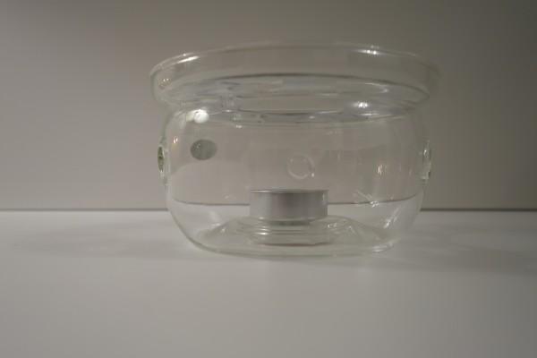 Glas Stövchen für die Teekanne