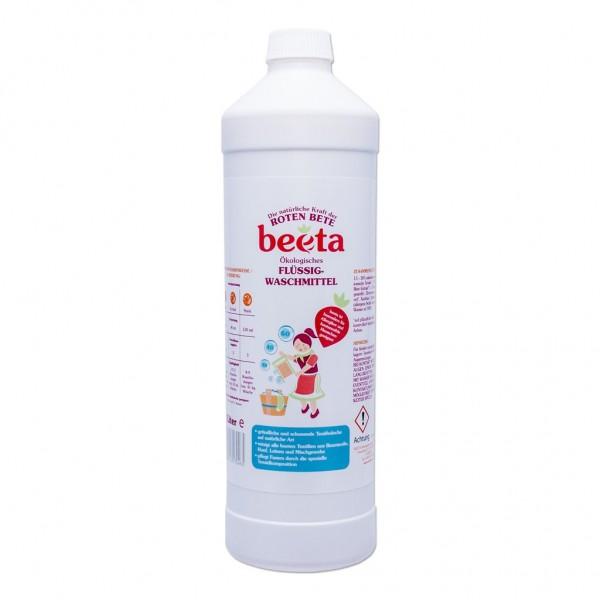 beeta Waschmittel mit Roter Bete