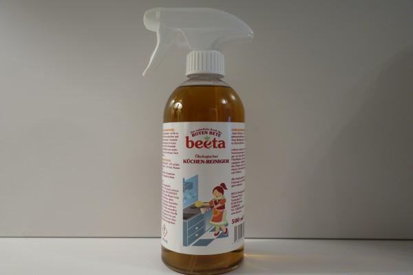 beeta Küchenreiniger mit Roter Bete 500 ml Sprühflasche
