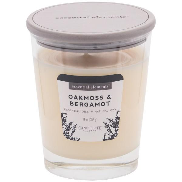 Duftkerze Oakmoss & Bergamot