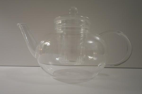 Teekanne Classics mit Glas-Siebeinsatz