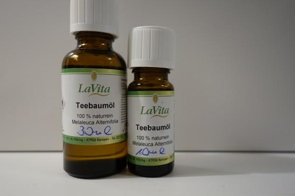 LaVita Teebaumöl 100% naturrein 10ml / 30ml