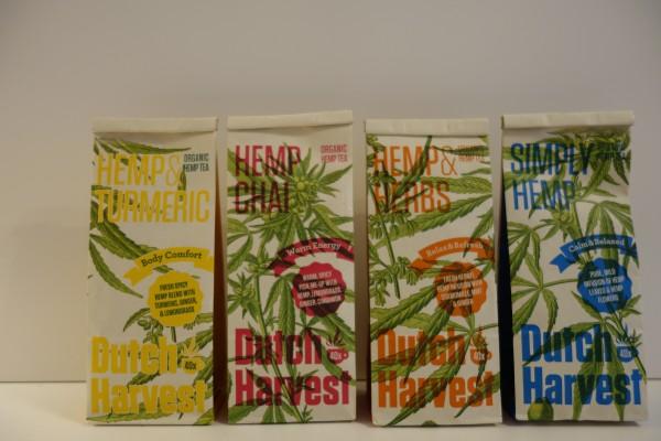 DUTCH HARVEST HEMP TEA - 4 Geschmacksrichtungen
