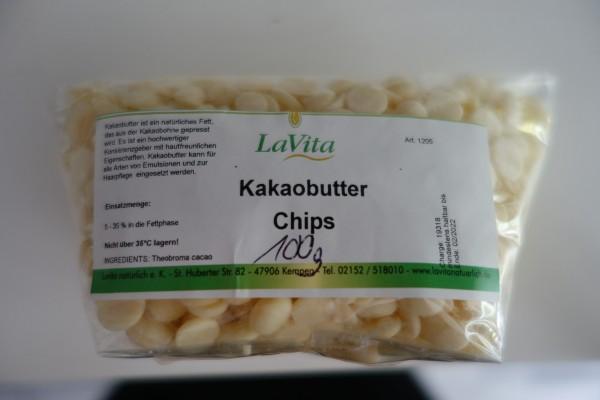 LaVita Kakaobutter Chips 100gr.