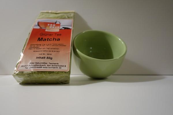 Geschenkset Grüner Tee Matcha & Matchaschale