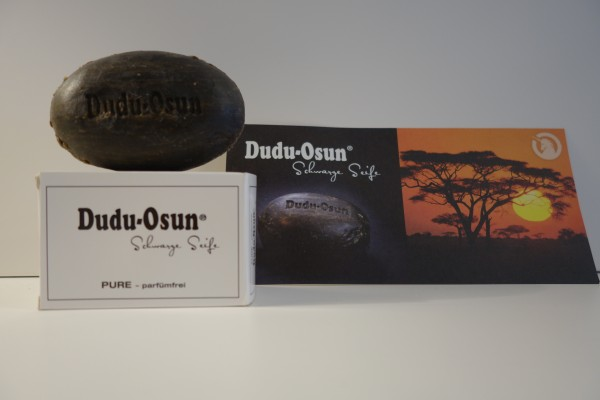 Dudu-Osun® schwarze Seife PURE -parfümfrei