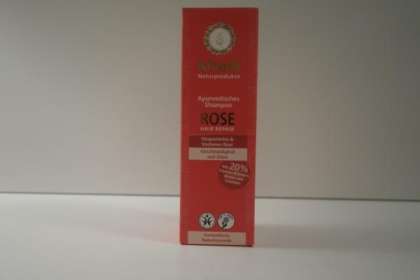 Ayurvedisches Shampoo ROSE Hair Repair