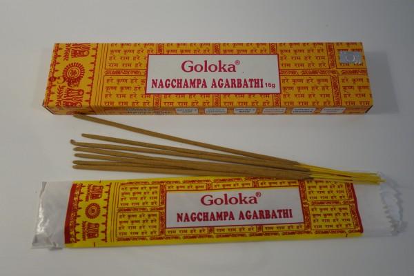 Goloka Nag Champa Räucherstäbchen