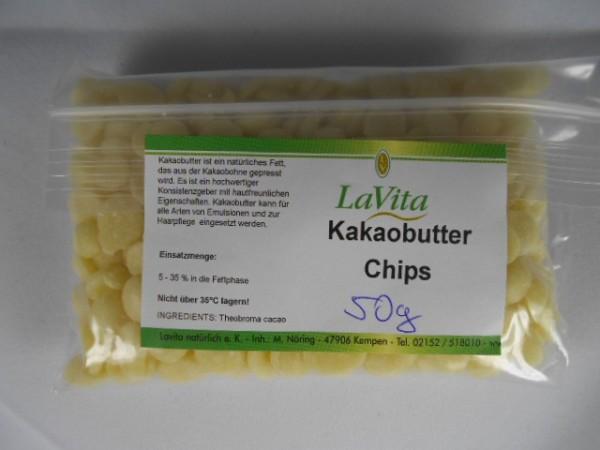 LaVita Kakaobutter Chips 50gr.