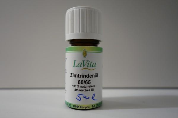 Zimtrindenöl 60/65 100% naturreines ätherisches ÖL 5ml