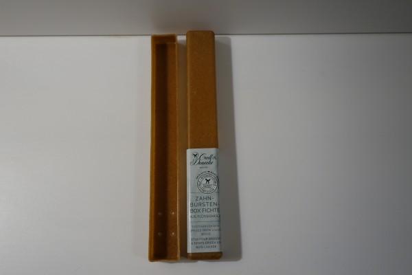 Zahnbürstenbox Fichte aus Flüssigholz