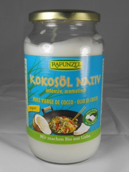 Kokosöl nativ Bio