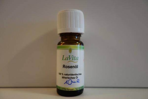 LaVita Rosenöl 100% naturidentisches ätherisches Öl 10ml