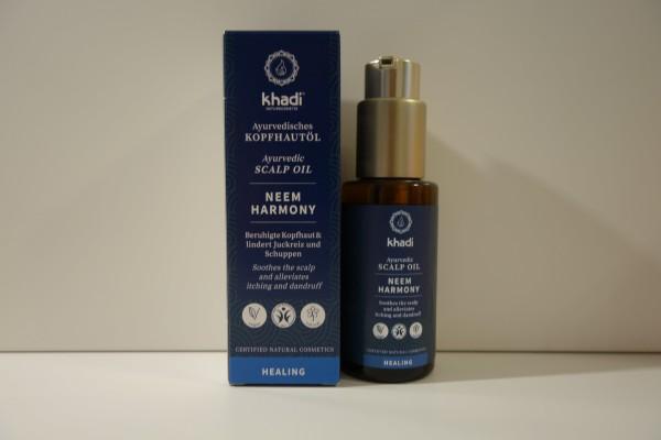 khadi Ayurvedisches Kopfhaut-Öl NEEM HARMONY 50ml