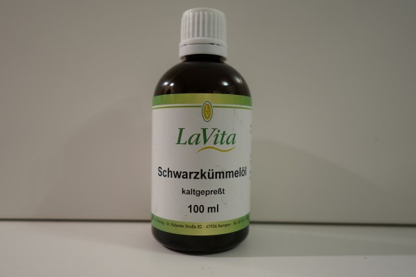 LaVita Schwarzkümmelöl kaltgepresst 100ml
