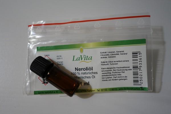 Neroliöl 100% natürliches ätherisches ÖL 1ml