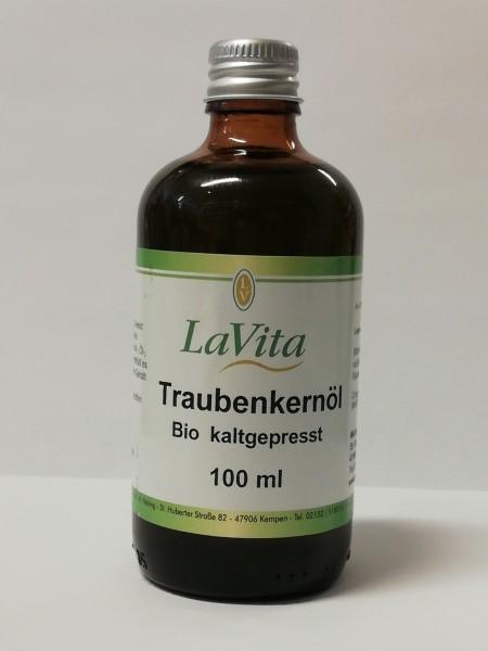 Traubenkernöl kaltgepresst Bio