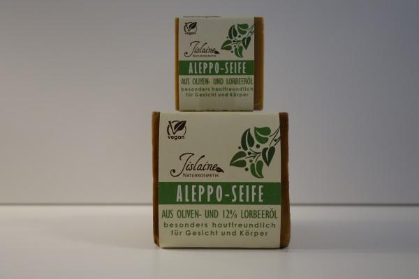 Aleppo Seife aus Oliven- & 12% Lorbeeröl