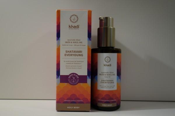 khadi Ayurvedisches Elixier Skin & Soul Oil SHATAVARI EVERYOUNG 1