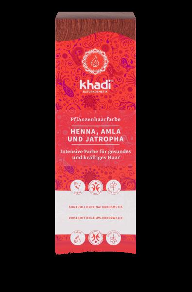 Naturhaarfarbe Rot / Henna, Amla & Jatropha