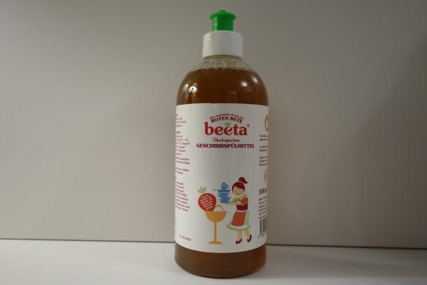 beeta Geschirrrspülmittel mit Roter Bete