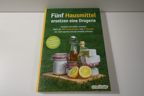 Buch Fünf Hausmittel ersetzen eine Drogerie